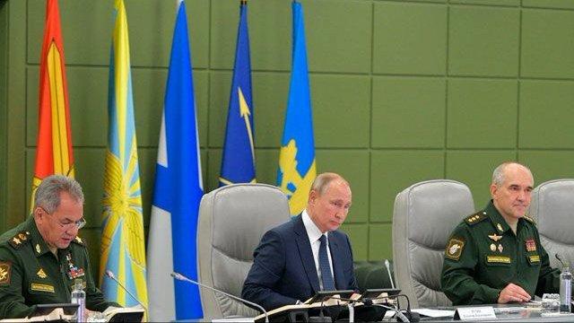 Путин возглавил тренировку Стратегических сил с пусками ракет